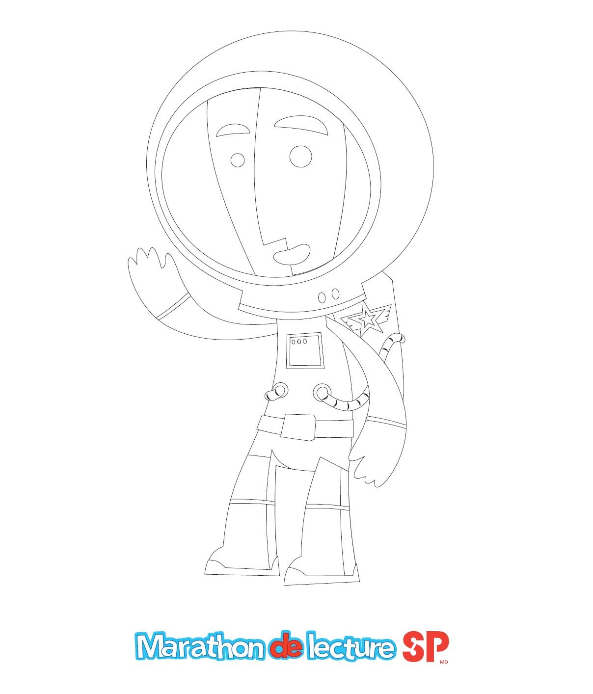Cosmo - Image à colorier