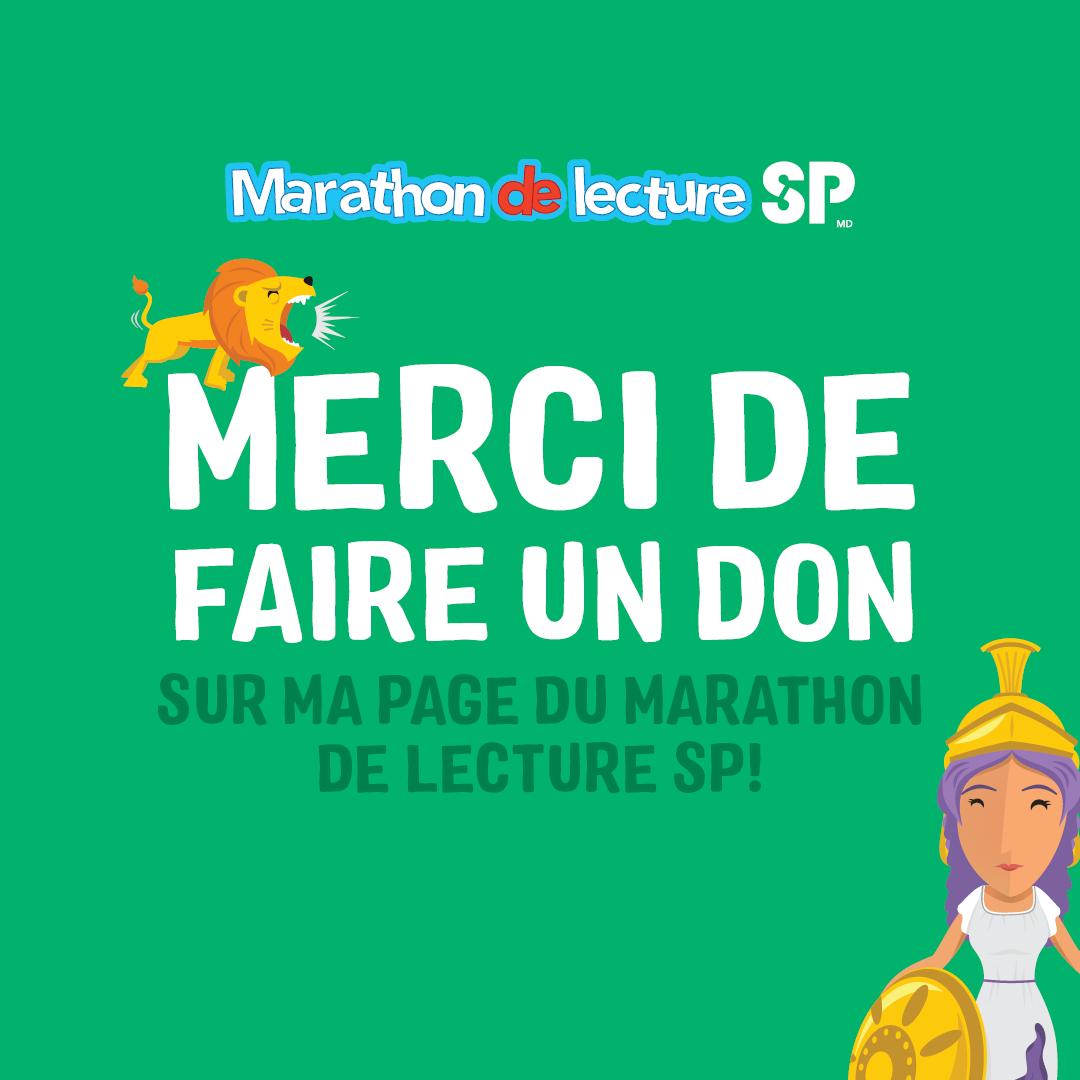 Marathon de Lecture SP - Médias Sociaux 3