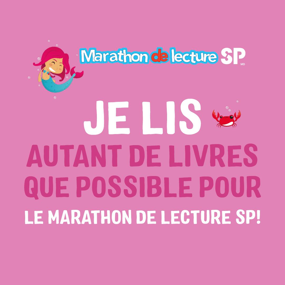 Marathon de Lecture SP - Médias Sociaux 2
